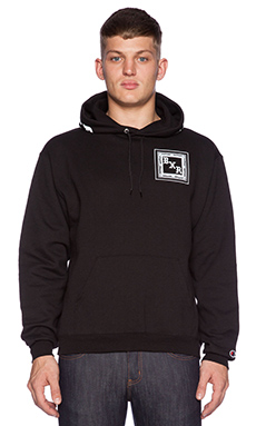 Born x Raised BXR Flag Pullover in Black