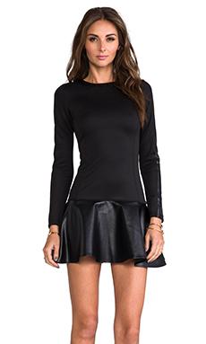 Boulee Penny Dress in Black
