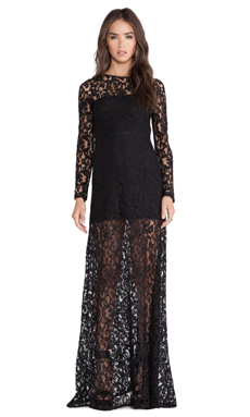 Boulee Rachel Maxi Dress in Black