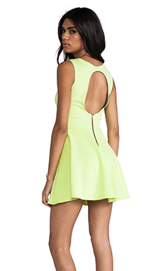 Boulee Avery Dress in Lime