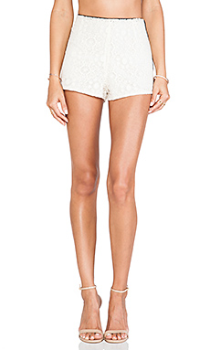 Boulee Tommy Short in Lace White