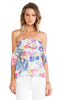 Boulee Emily Top in Ballet Print