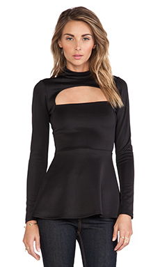 Boulee Shay Techno Top in Black