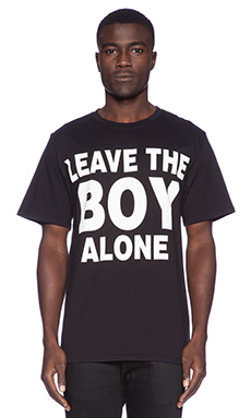 BOY London Leave BOY Alone Tee in Black
