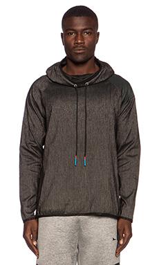 Brandblack Sith Hood Jacket in Charcoal Black