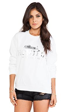 Brian Lichtenberg Homies Sweatshirt in White/Silver