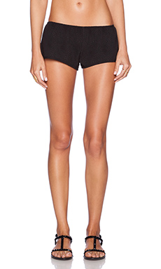 BEACH RIOT Riot Shorty in Black