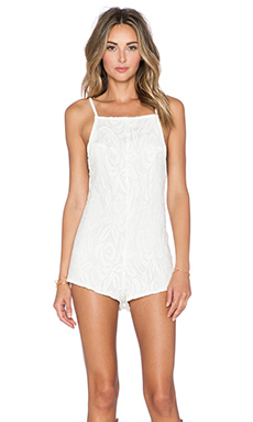 BEACH RIOT x REVOLVE Romper in Cream Lace