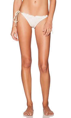 BEACH RIOT x REVOLVE Primrose Bikini Bottom in Cream Lace