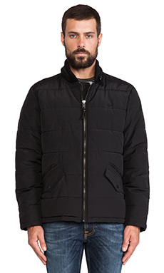Brixton Atlan Jacket in Black