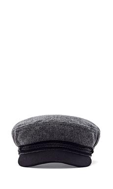 Brixton Fiddler in Grey & Black