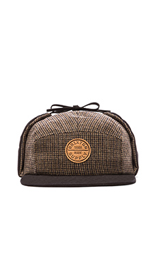 Brixton Miller Hat in Brown & Black