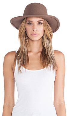 Brixton Tiller Hat in Light Brown