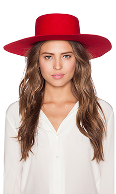 Brixton Ally Hat in Red