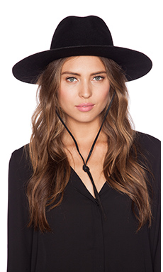 Brixton Mayfield Hat in Black