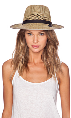 Brixton Gwen Fedora in Tan