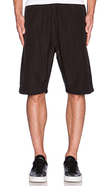 Black Scale Essential Shorts in Black