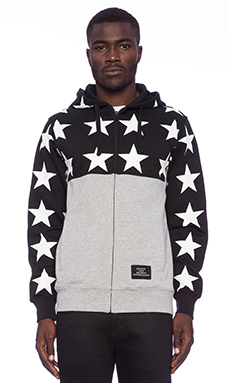 Black Scale Just Black Hoodie in Black