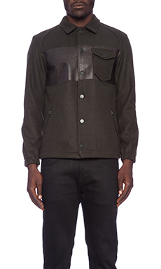 Black Scale Kearney Jacket in Olive