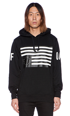 Black Scale x JT&CO Rebel Radical Pullover Fleece in Black