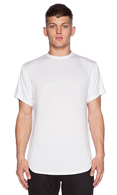 Black Scale Blvck Essential Tee in White
