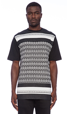 Black Scale Holiday Hellday Tee in Black