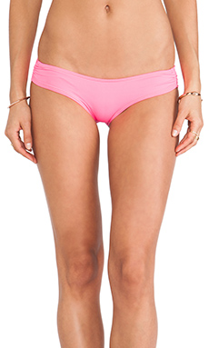 b.swim Sassy Pant Bottoms in Flamingo