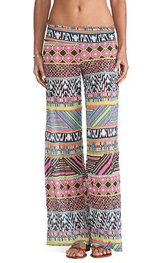 Bettinis Aztec Pants in Multi Print