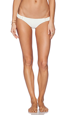 Bettinis Resort Cheeky Bikini Bottom in Bone