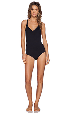 Bettinis Resort One Piece Swimsuit in Black