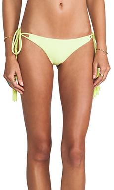 Bettinis Chloe Tie Side Bottom in Acid Lime
