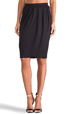 By Malene Birger Viscose Jersey Elga Skirt in Black
