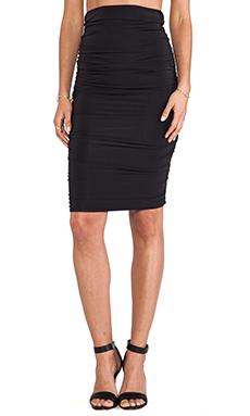 By Malene Birger Smooth Interlock Reminda Skirt in Black
