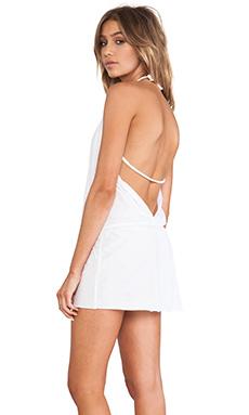 CA by vitamin A Coachella Dress in White