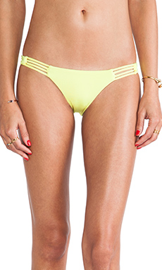 CA by vitamin A Solange Triple Strap Reversible Hipster Bottom in Glow
