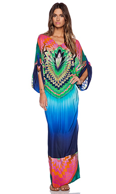 Caffe Maxi Dress in Multi