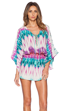 Caffe Mini Dress in Tribal