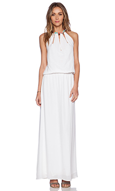 Caffe Maxi Dress in White