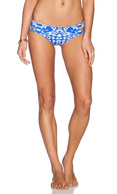 Caffe Bikini Bottom in Blue & White