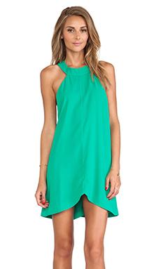 Cameo Liquid Love Dress in Kermit Green