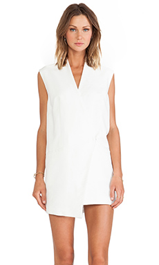 C/MEO Run Alone Vest Dress in Ivory