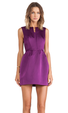 Cameo Plexus Dress in Grape