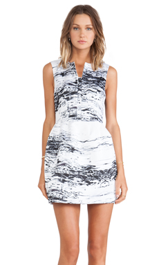 Cameo The Outcome Dress in Marble