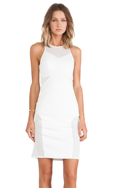 Cameo Acoustic Dress in White