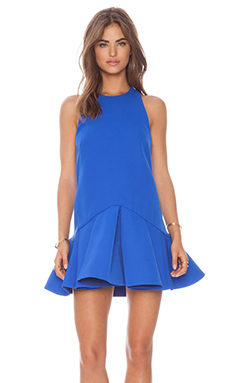 Cameo Why Ask Dress in Cobalt Blue