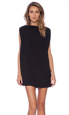 Cameo All for One Mini Dress in Black
