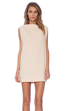 Cameo All for One Sleeveless Dress in Peach