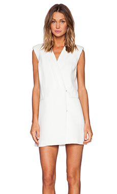Cameo Hideaway Dress in Ivory