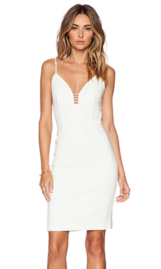 Cameo Airplane Dress in Ivory