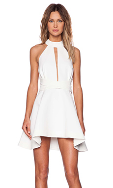 Cameo Breaking Hearts Dress in Ivory